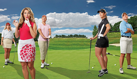 Image result for mujeres en el golf